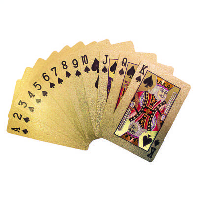 Premium Playing Cards 24K Gold
