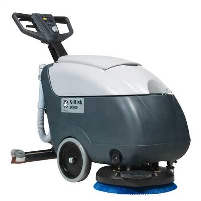 450W Commercial scrubber dryer