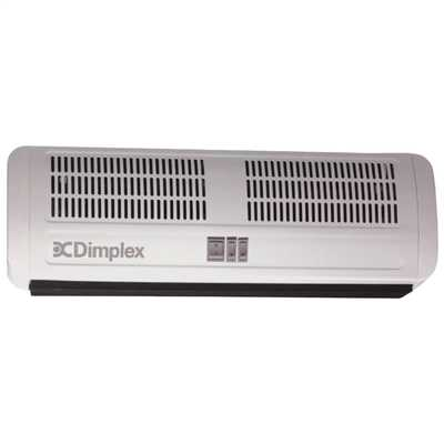 4500W AC Over Door Heater with Integrated Controls White