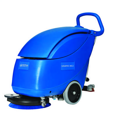 750W Commercial scrubber dryer