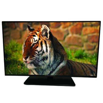 "32"" LED HD Ready Freeview HD TV Black with Chrome Trim"