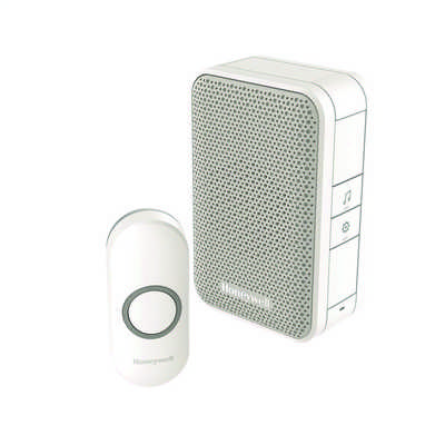 150m Wireless Door Chime Kit White