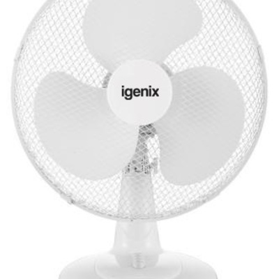 16 Inch Desk Fan White