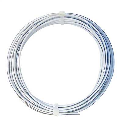 Twin Speaker Cable 42 Strands White / Black (5m Drum)