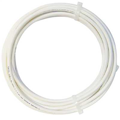 1.5mm² Round Flexible Cord White (10m Drum)