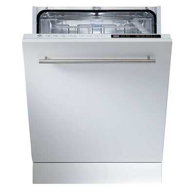 60cm Integrated 12 Place Dishwasher White