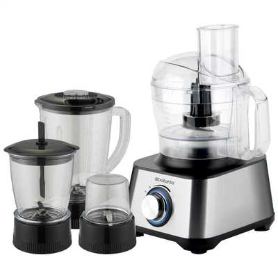 1000W Food Processor Stainless Steel