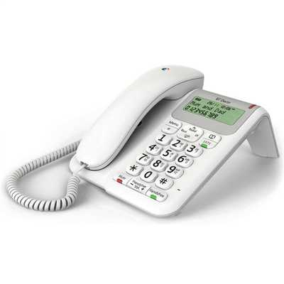 Decor 2200 Corded Telephone White