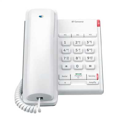 Converse 2100 Corded Telephone White