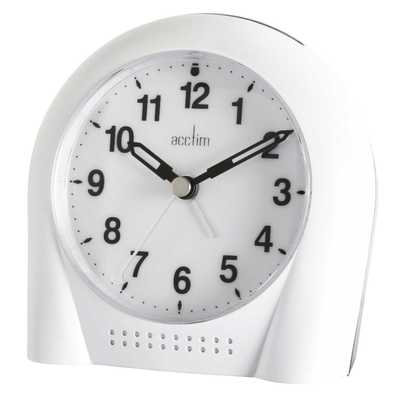 Sweeper Smartlite Alarm Clock White
