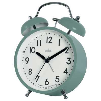 Newstead Double Bell Alarm Clock Cloverfield