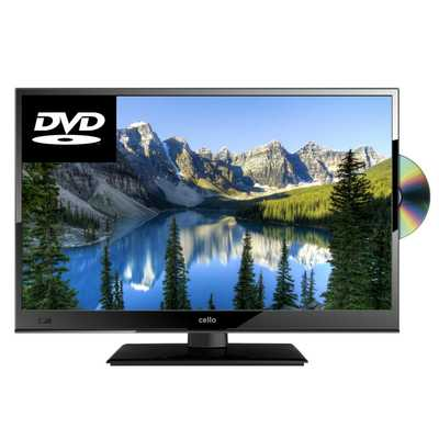 16 Inch HD Ready LED TV with DVD and USB PVR