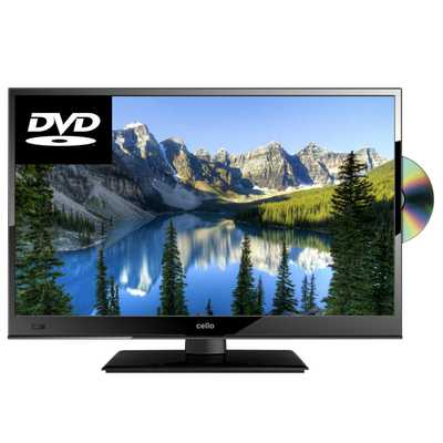 20 Inch HD Ready LED TV with Freeview and DVD