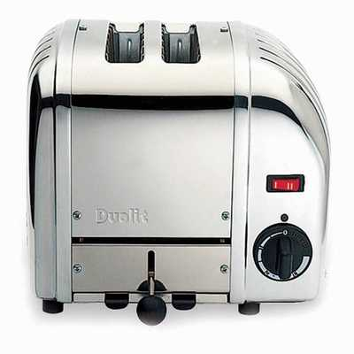 2 Slice Vario Toaster Polished Stainless Steel