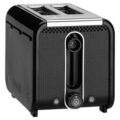 2 Slice Studio Toaster Black