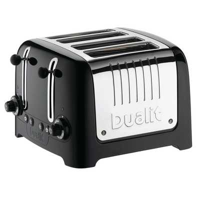 4 Slice Lite Toaster High Gloss Black