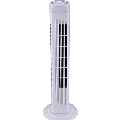 30 Inch Tower Fan with 2H Timer White