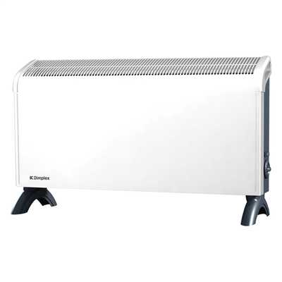 3kW Portable / Wall Mounted Convector with Thermostat White/Grey