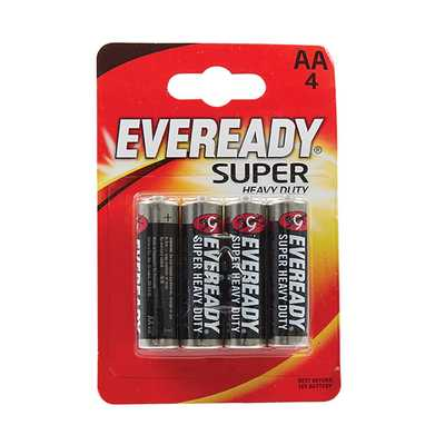 AA LR6  Battery (Pack of 4)