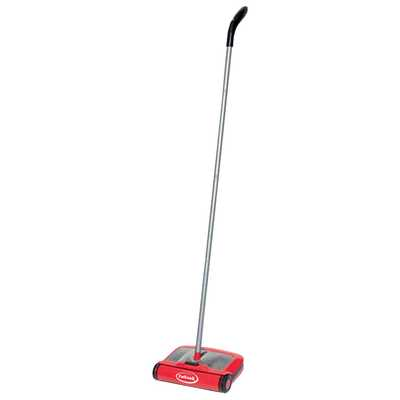 Hard Floor Sweeper with Microfibre Duster