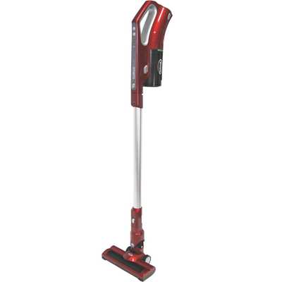 2 in 1 Cordless Stick Vacuum Cleaner Red/Silver
