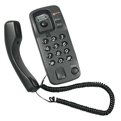 Marbella Corded Telephone Graphite