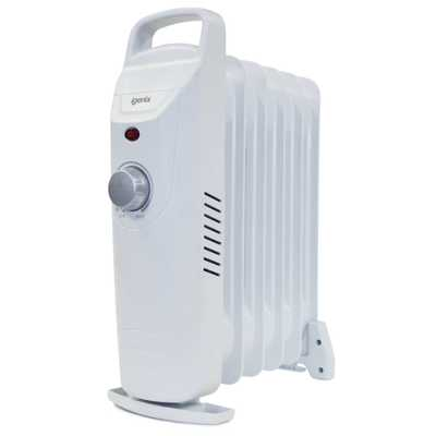 0.5kW Baby Oil Filled Radiator White