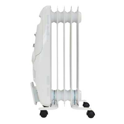 1.2kW Oil Filled Radiator White