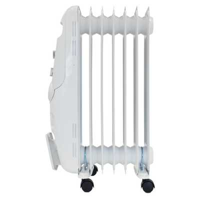1.5kW Oil Filled Radiator White