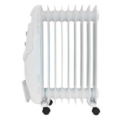 2kW Oil Filled Radiator White