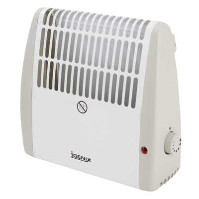 0.5kW Frost Watch Convector Heater White/Grey