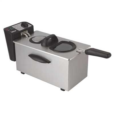 3.5 Litre Fryer Brushed Stainless Steel