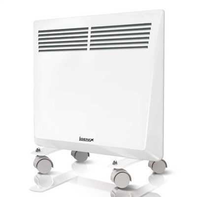 1kW Panel Heater with 24 Hour Timer White