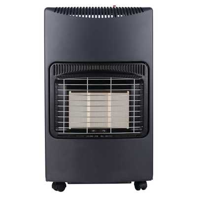 4.2kW Gas Heater - Black
