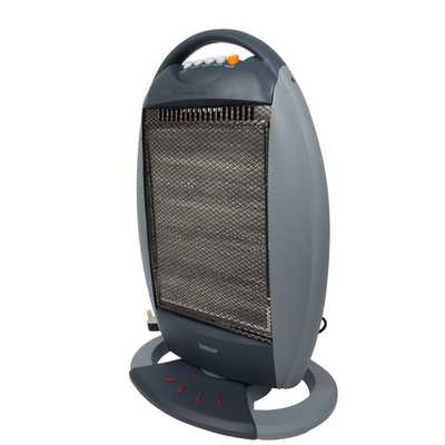 1.6kW Halogen Heater Grey