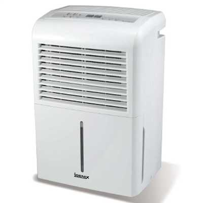 50 Litre Per Day Dehumidifier White