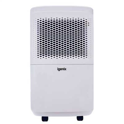 12L Portable Air Dehumidifier White