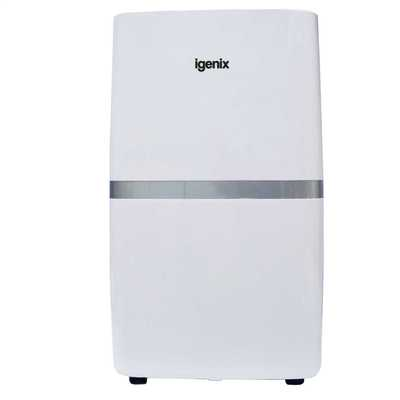20L Portable Air Dehumidifier White