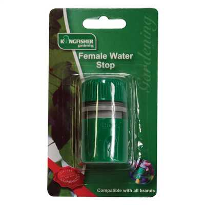 Snap Action Female Hose Water Stop