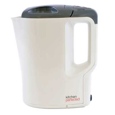 0.9 Litre Corded Travel Jug Kettle White
