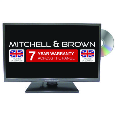 24 Inch LED TV with Freeview HD, PLAY and DVD