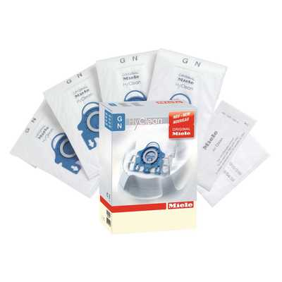 Hyclean GN Dustbags with Two Filters (Pack of 4)