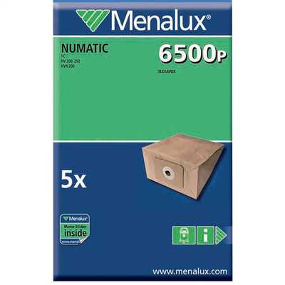 Numatic Type Paper Dustbags (Pack of 5)