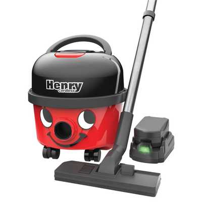 Henry Cordless Vacuum Cleaner Red HVB160
