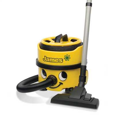 Eco James Vacuum Cleaner 230V Yellow