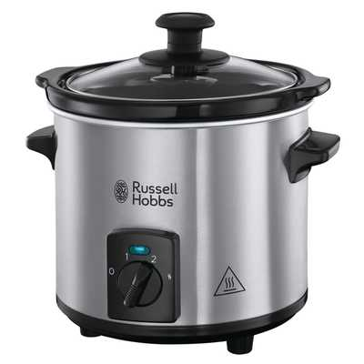 2L Compact Home Slow Cooker Stainless Steel