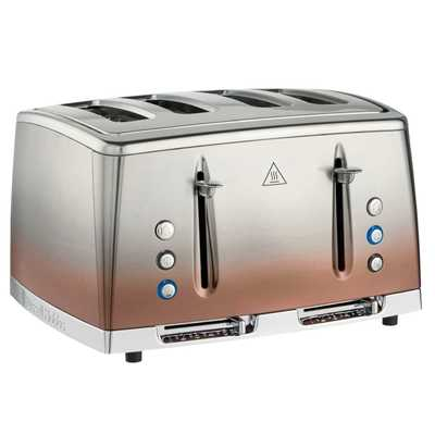 Eclipse 4 Slice Toaster Copper Sunset