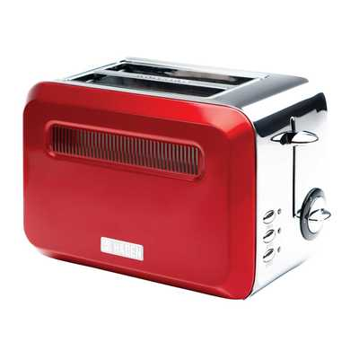 2 Slice Boston Toaster Red