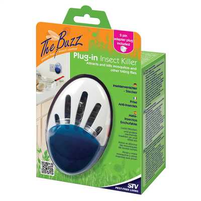 Plug In Insect Killer with 2 Pin European Travel Adaptor