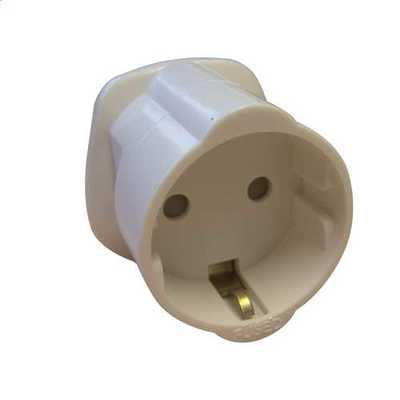 Schuko to UK Adaptor